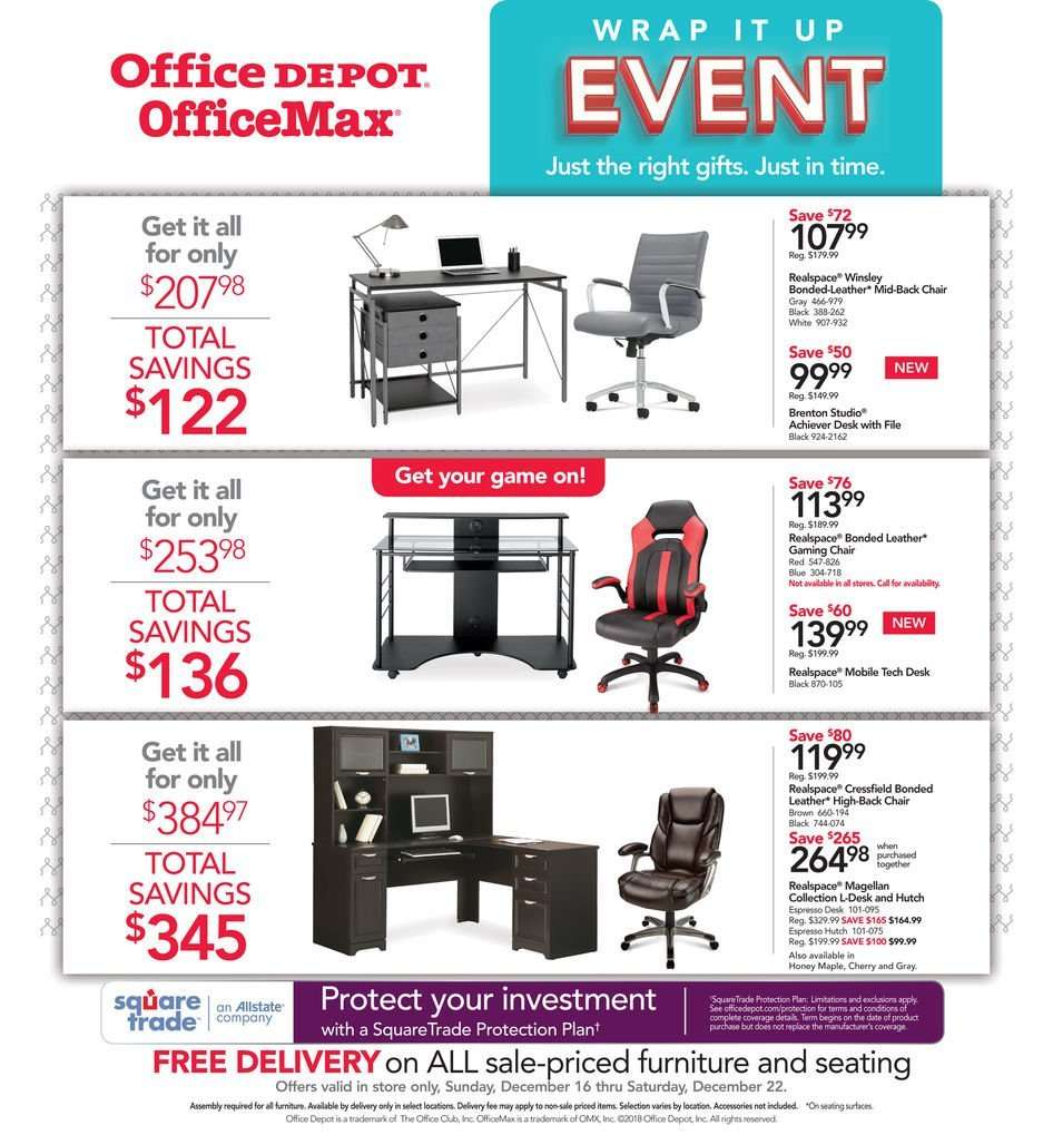 Office DEPOT flyer 12 16 2018 - 12 22 2018 | Weekly-ads us