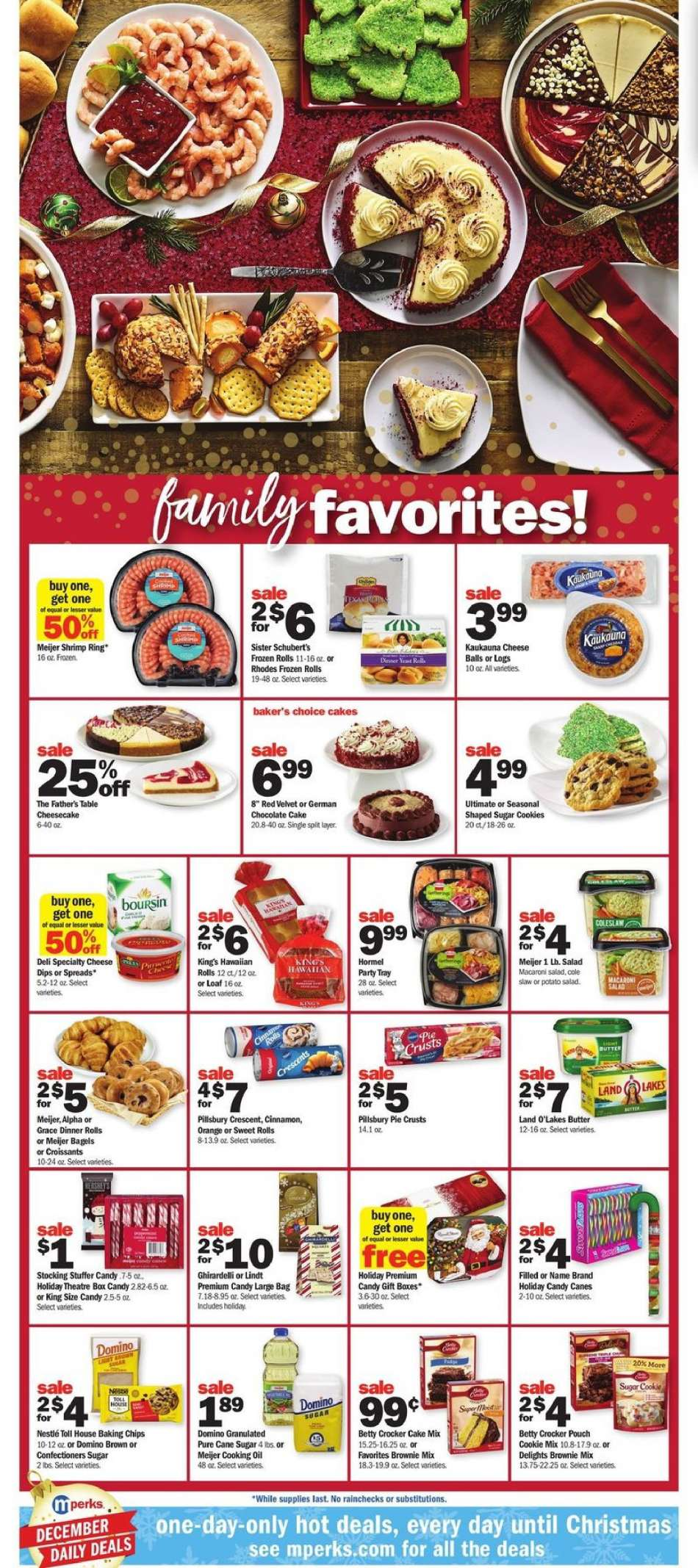 Current Meijer Flyer 12 16 2018 12 24 2018 Weekly Ads Us