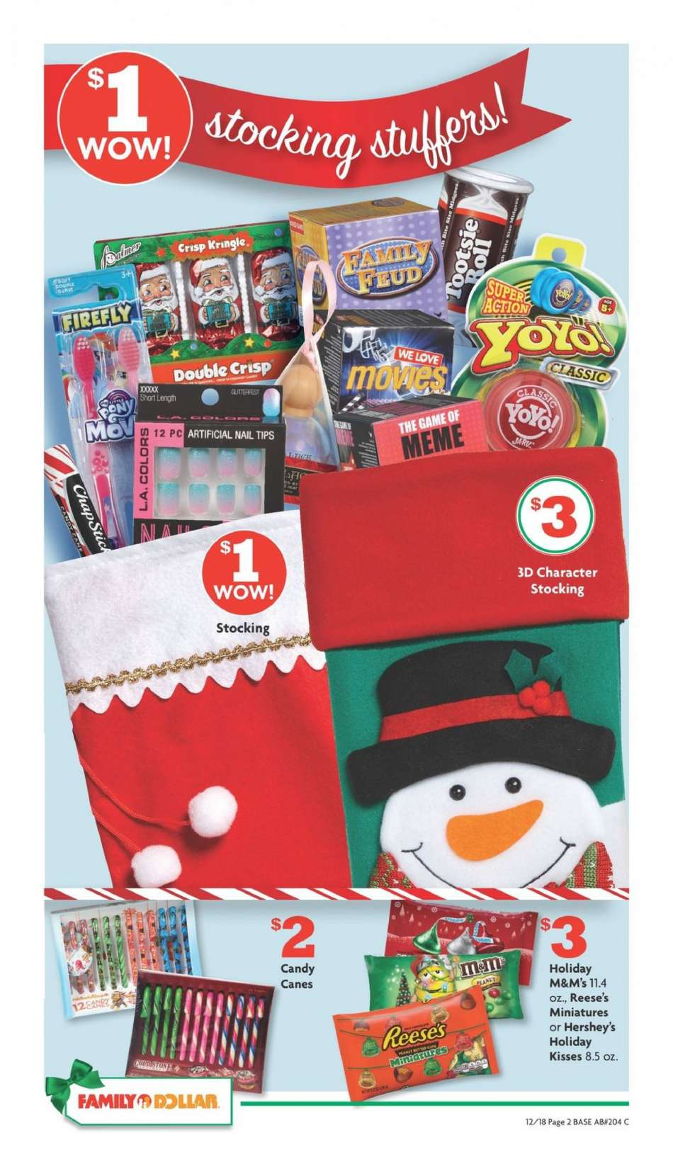 Family Dollar Christmas Hours.Family Dollar Flyer 12 18 2018 12 25 2018 Weekly Ads Us