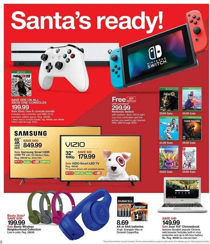 Target flyer 12 23 2018 - 12 29 2018 | Weekly-ads us