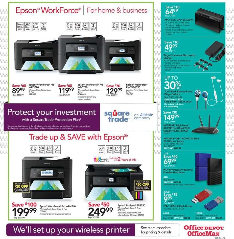 Office DEPOT flyer 12 23 2018 - 12 29 2018 | Weekly-ads us