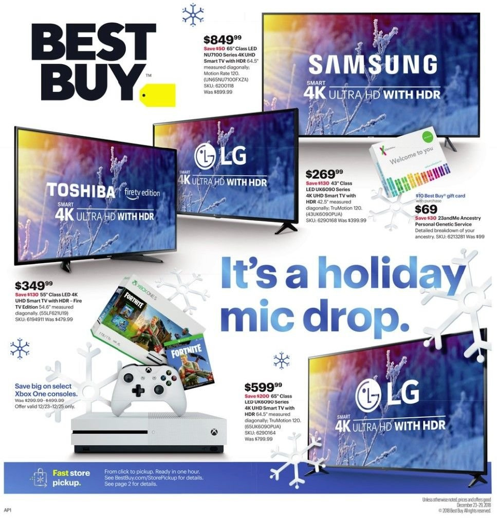 Best Buy Flyer 12 23 2018 12 29 2018 Page 1 Weekly Ads