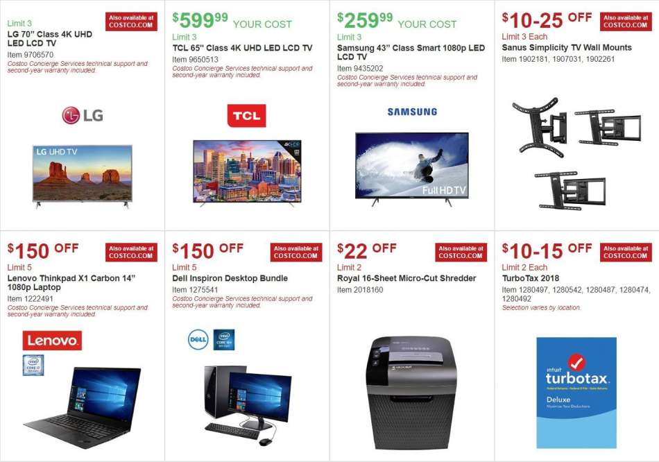 Costco flyer 01 02 2019 - 01 27 2019 | Weekly-ads us
