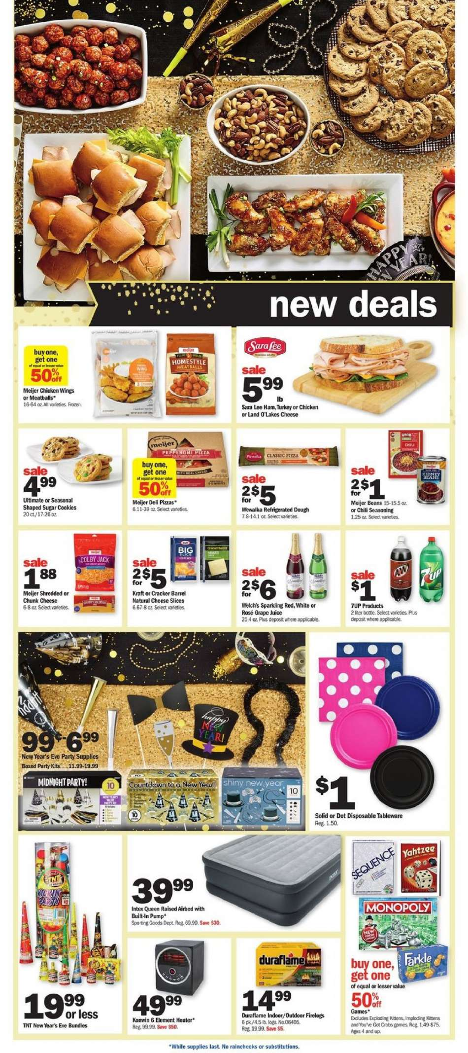Current Meijer Flyer 12 27 2018 12 31 2018 Weekly Ads Us
