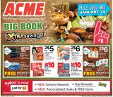 ACME Flyer - 12.28.2018 - 01.24.2019 - Sales products - bag, cocoa, crackers, fuel, nestlé, rice, tea, tortilla chips, honey, jar, protein, oven, organic, chips, drinking water, water, iced tea, salsa, pasta, monster.