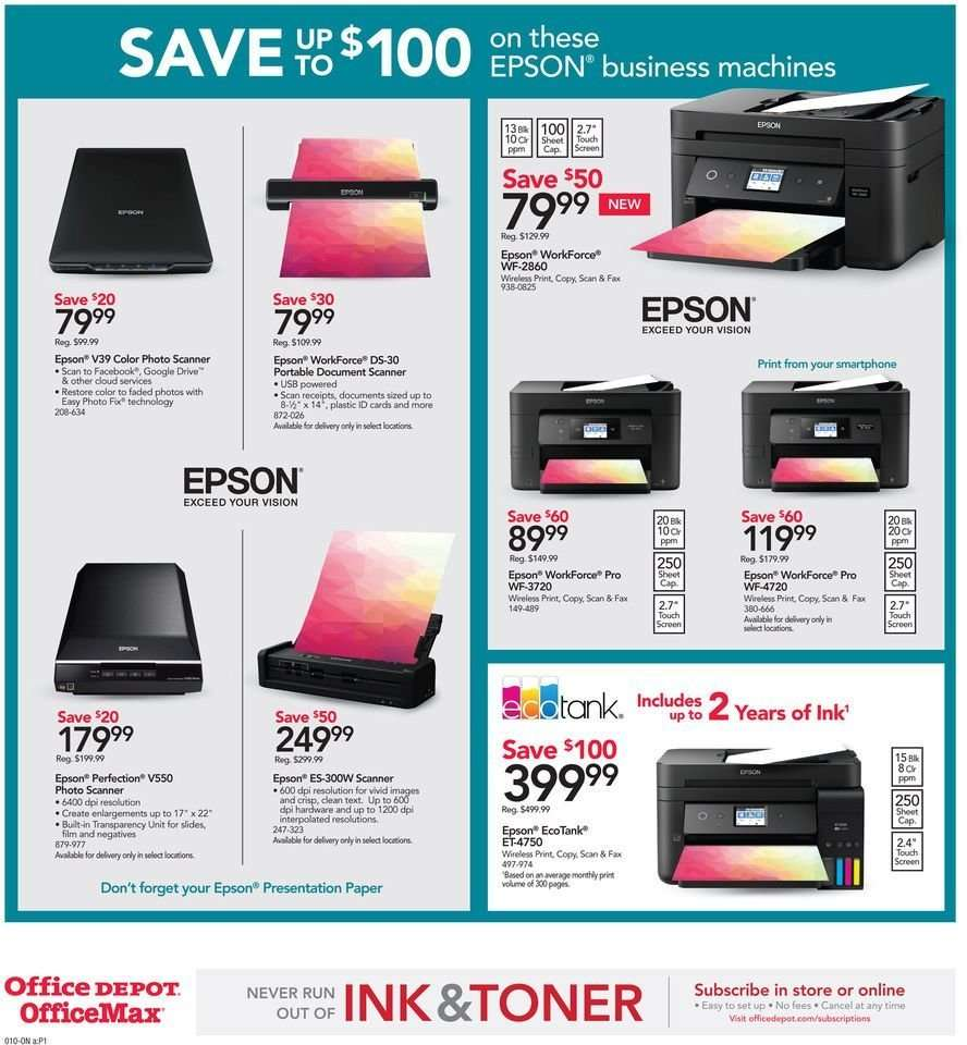 Office DEPOT flyer 12 30 2018 - 01 05 2019   Weekly-ads us