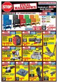 Harbor Freight Flyer - 01.01.2019 - 01.31.2019 - Sales products - air compressor, blanket, case, drawer, floor jack, gloves, remote control, handles, powder, predator, performax, power tools, wireless, grinder.