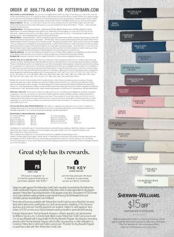 9e3e6af5b9e0f Pottery Barn Flyer - Sales products - bedding