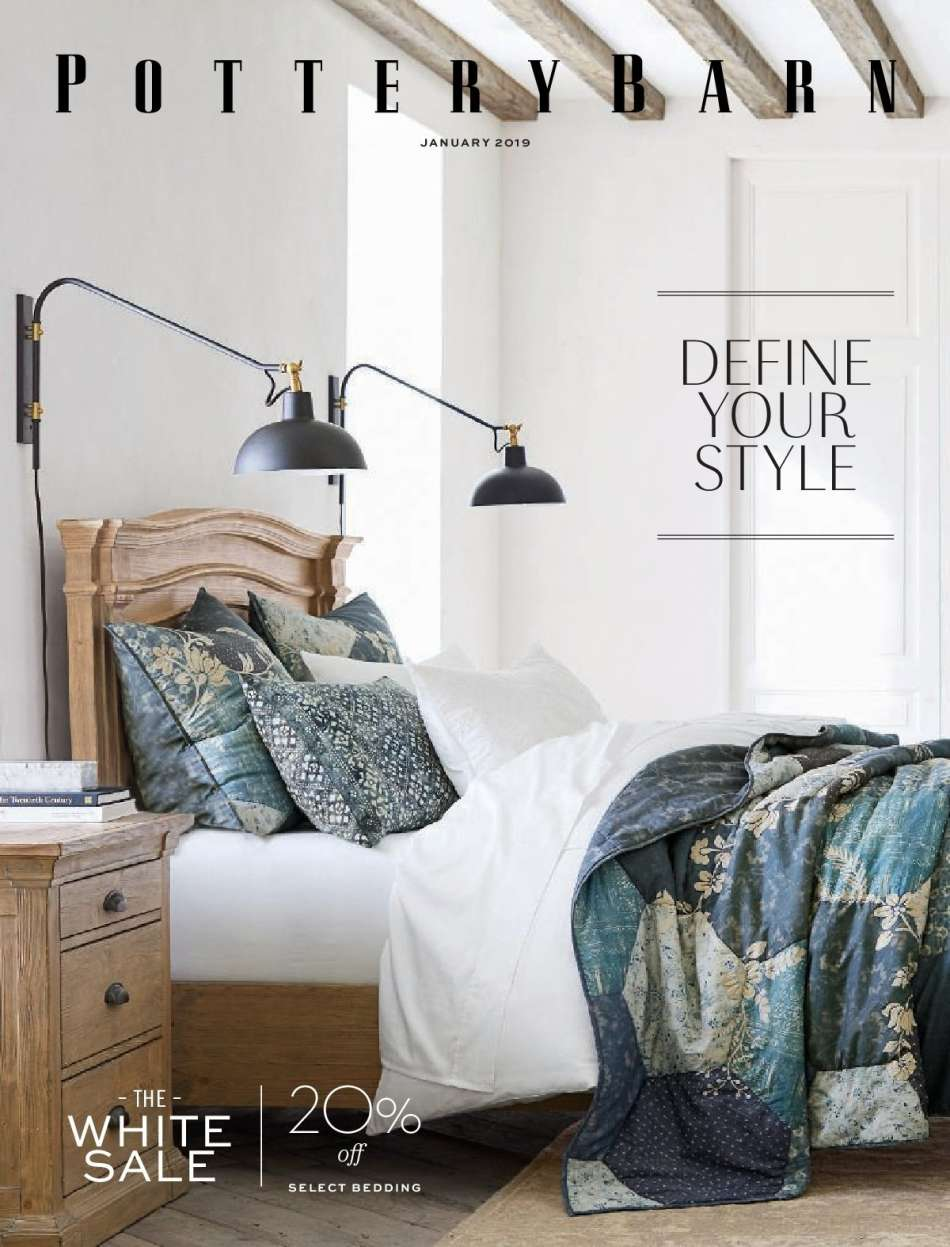 Pottery Barn Flyer 01 2019 31 S Products Bedding