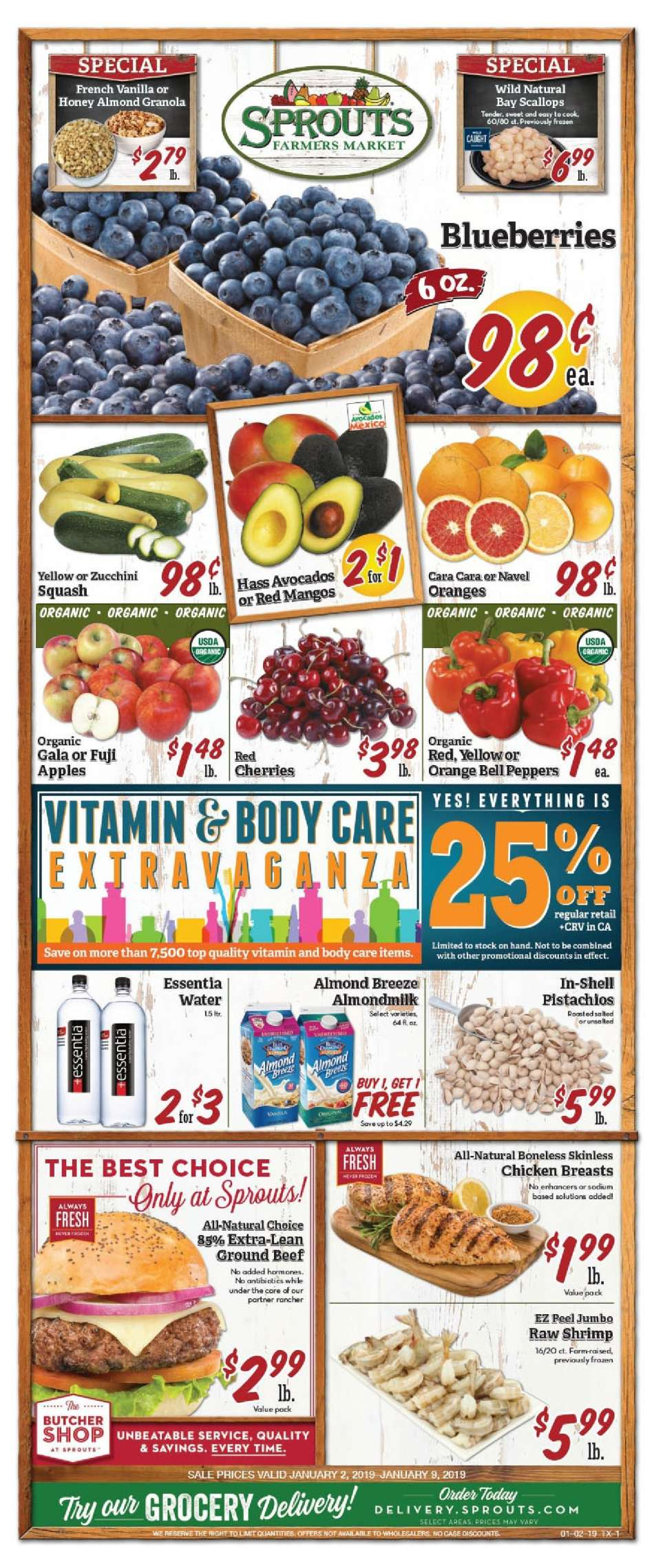 Sprouts flyer 01 02 2019 - 01 09 2019   Weekly-ads us