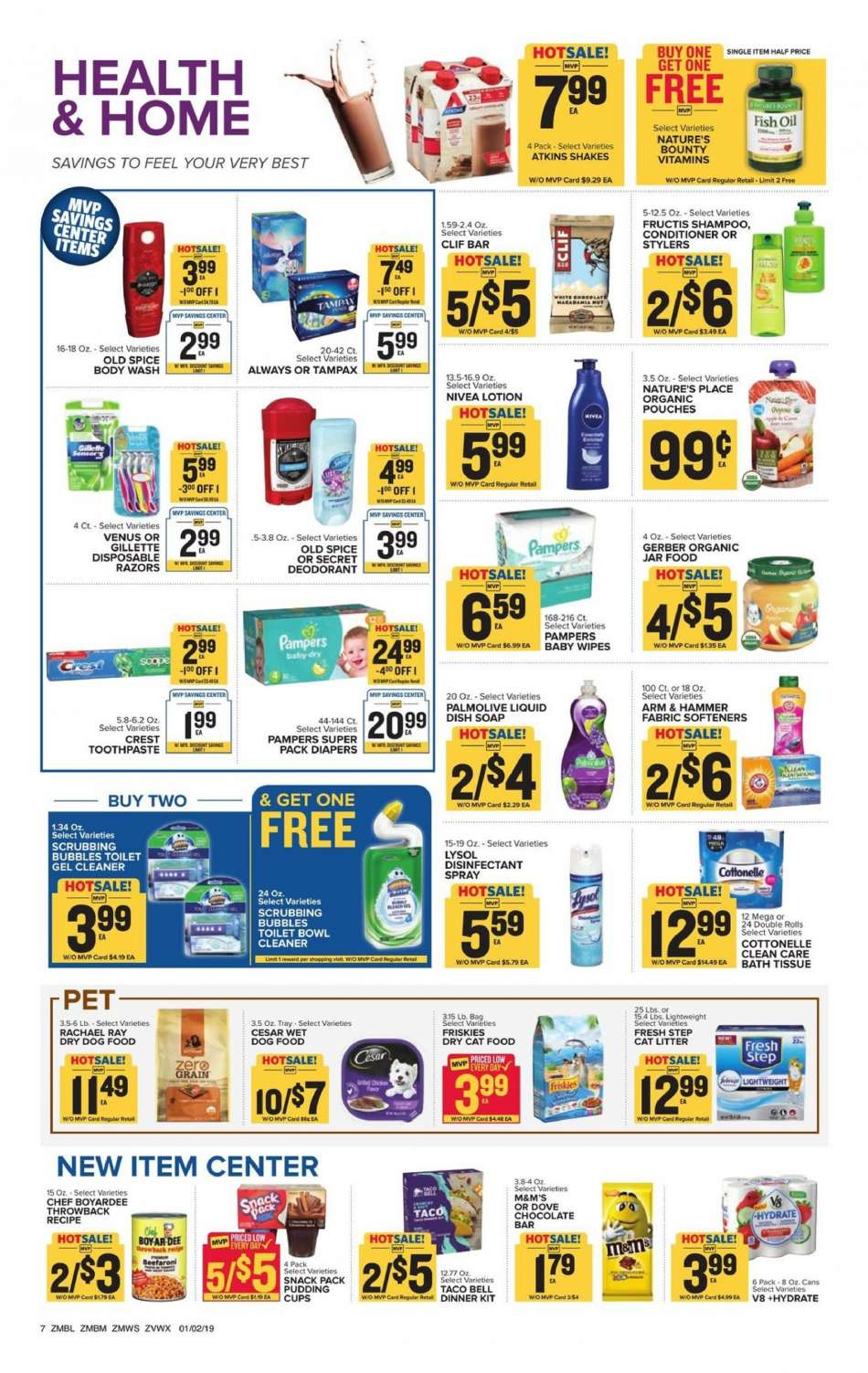 Current Food Lion Flyer 01022019 01082019 Weekly Adsus