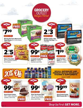 Grocery outlet opp al