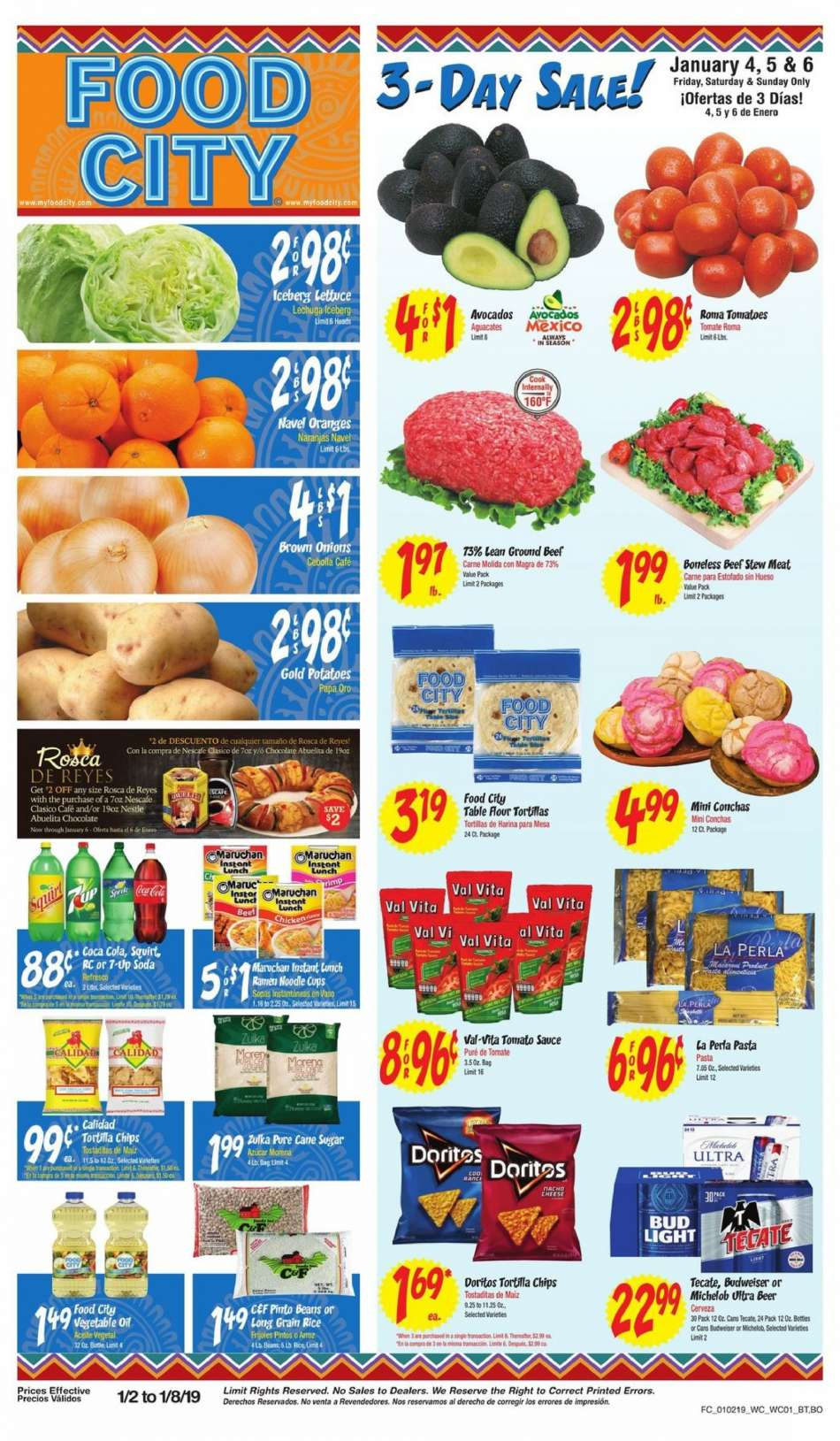 Current Food City Flyer 01022019 01082019 Weekly Adsus