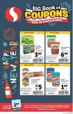 Safeway Flyer - 01.02.2019 - 02.05.2019 - Sales products - almonds, bagels, butter, muffins, peanut butter, peanuts, water, sparkling water.