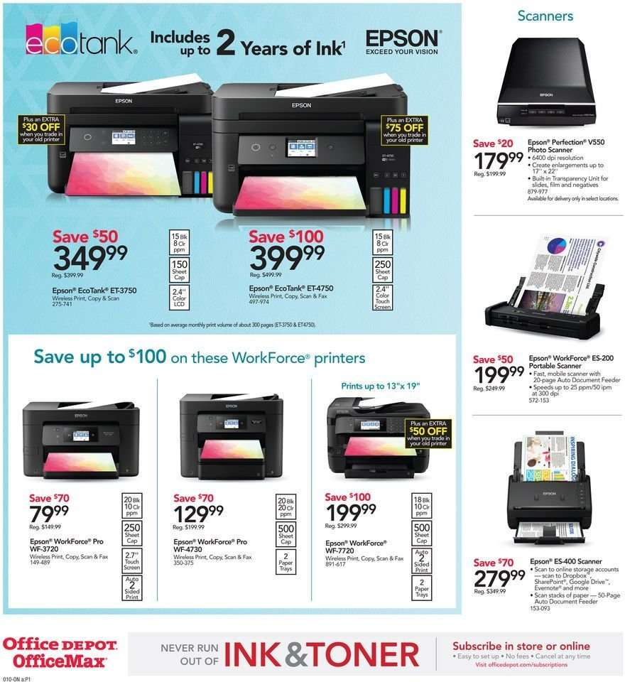Office DEPOT flyer 01 06 2019 - 01 12 2019   Weekly-ads us