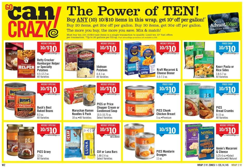 Price Chopper Flyer - 01.06.2019 - 01.12.2019 - Sales products - beans