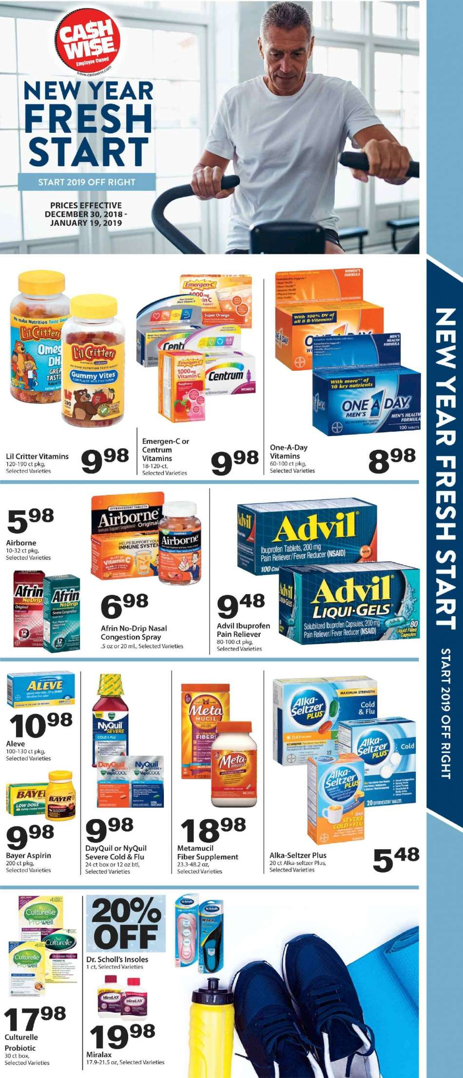 Cash Wise flyer 12 30 2018 - 01 19 2019 | Weekly-ads us