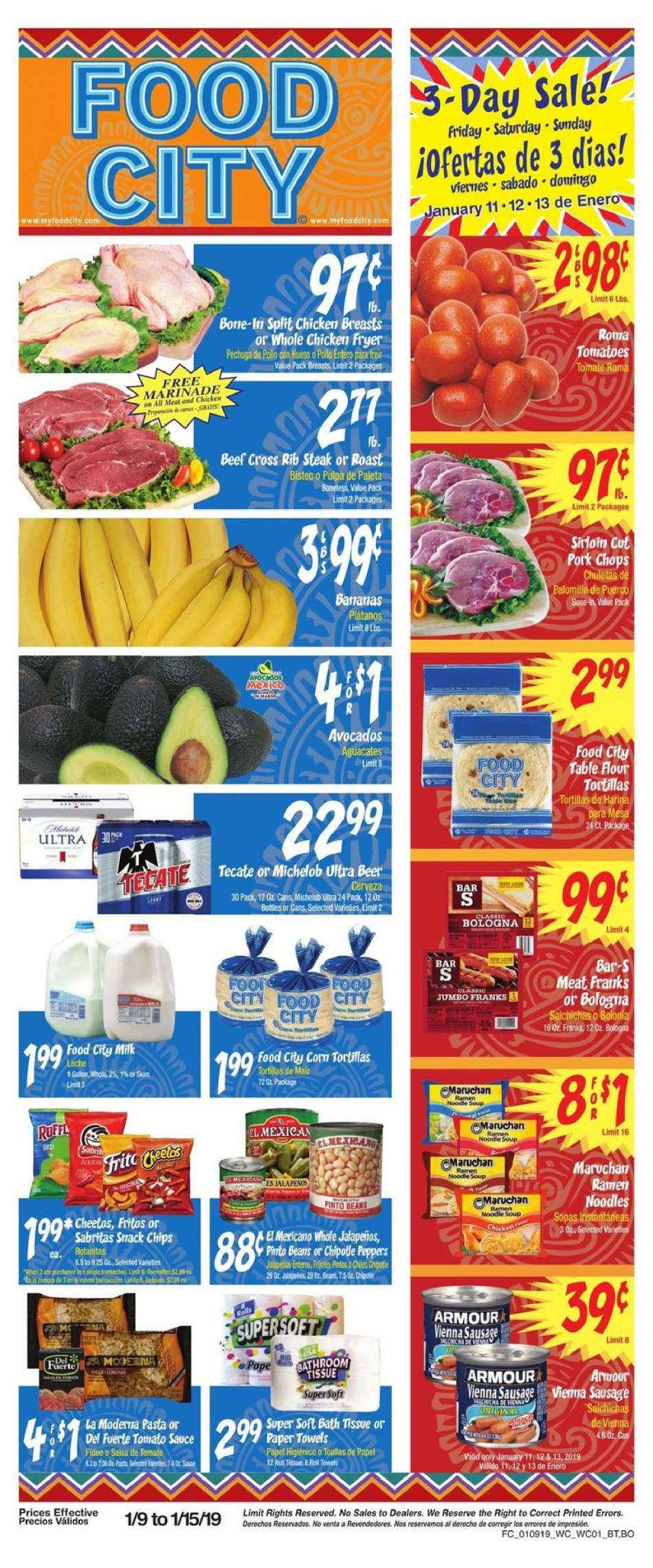 Current Food City Flyer 01092019 01152019 Weekly Adsus