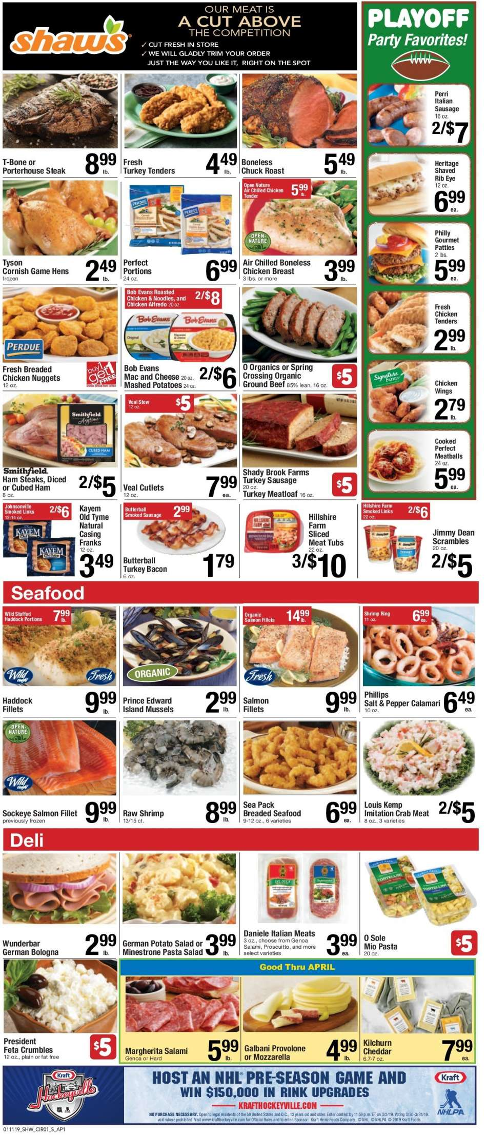 Shaw's flyer 01 11 2019 - 01 17 2019 | Weekly-ads us