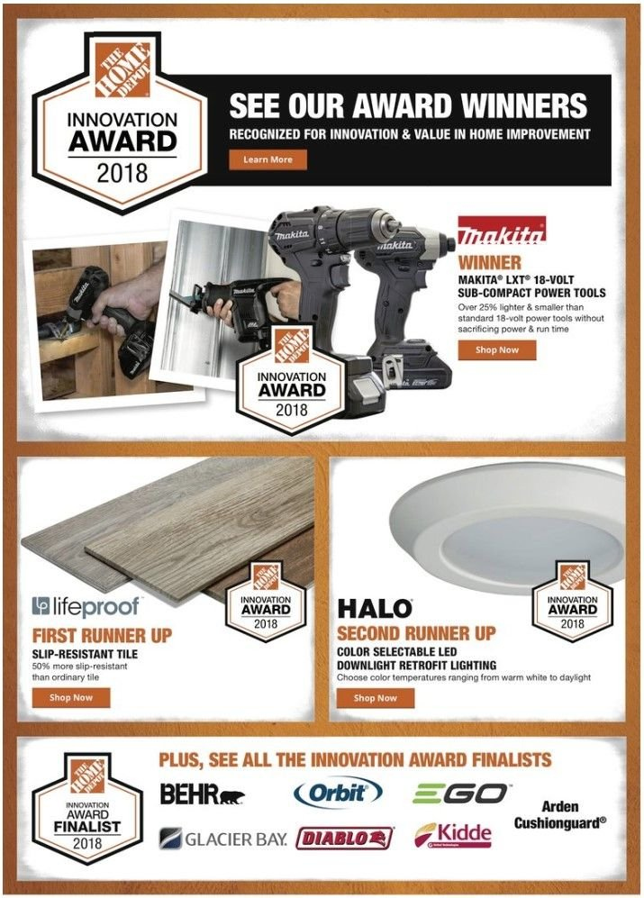The Home Depot Flyer - 01.10.2019 - 01.17.2019 - Sales products - power tools. Page 1.