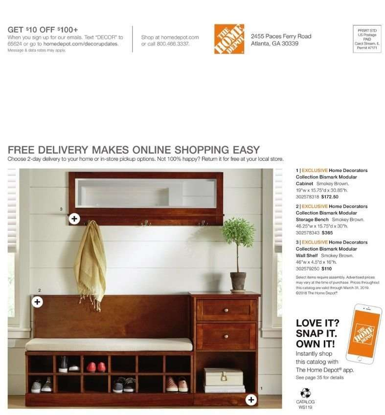 The Home Depot Flyer 12 31 2018 03 31 2019 Weekly Ads Us