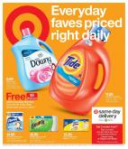 Target Flyer - 01.13.2019 - 01.19.2019 - Sales products - bath, bath tissue, detergent, downy, gain, lysol, tide, towel, unstopables, wipes, paper towel, paper, softener, bounty.