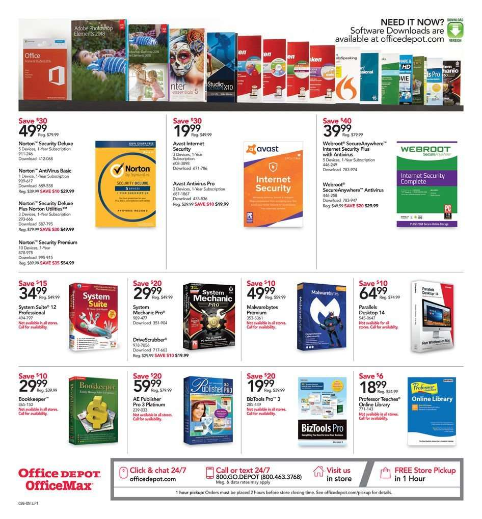 Office DEPOT flyer 01 13 2019 - 01 19 2019 | Weekly-ads us