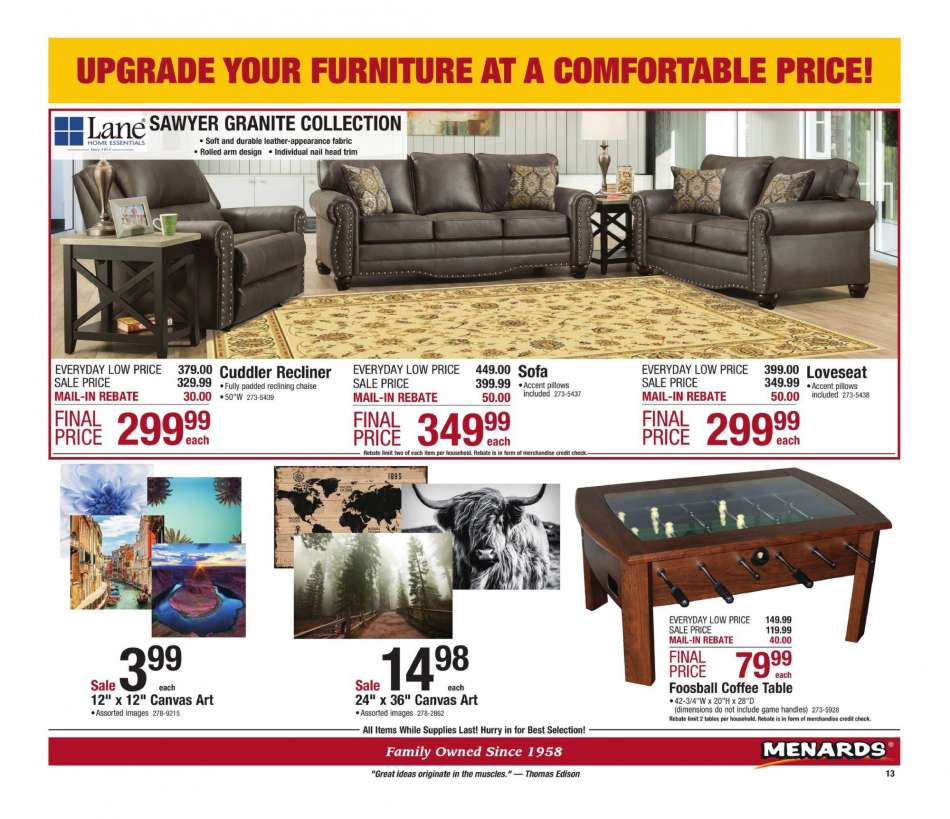 Current Menards Flyer 01 13 2019 01 19 2019 Weekly Ads Us
