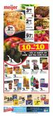 Meijer Flyer - 01.13.2019 - 01.19.2019 - Sales products - apple, avocado, bacon, beef meat, bread, cereals, coca-cola, corn, greek yogurt, ground beef, mango, tide, top, wrap, yogurt, pizza, pot, pot pies, chicken, chicken breast, pasta sauce, pears, pepsi, oreo, pie, pizza rolls, cereal, pasta, bar, sauce.