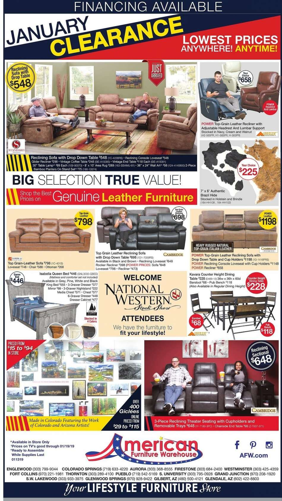 current american furniture warehouse flyer 01 13 2019 01 19 2019american furniture warehouse flyer 01 13 2019 01 19 2019 sales products