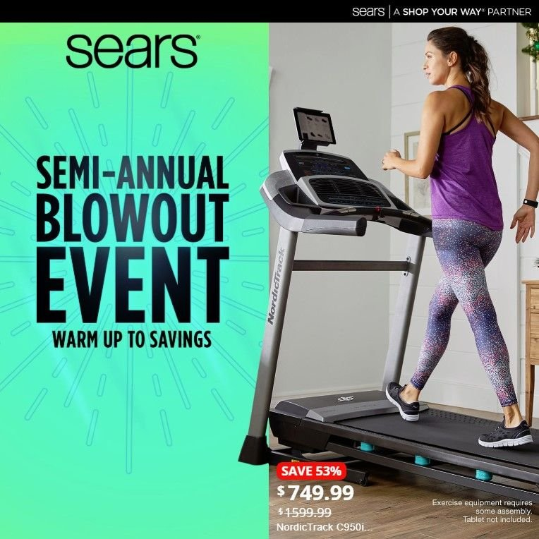 Sears Flyer  - 01.13.2019 - 01.19.2019. Page 1.