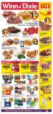 Winn Dixie Flyer - 01.16.2019 - 01.22.2019 - Sales products - baby back pork ribs, bacon, bath, bath tissue, beans, broccoli, budweiser, butter, cauliflower, cod, cookies, crackers, cream, flounder, frozen, russet potatoes, sausage, strawberries, tilapia, tomatoes, towel, yogurt, ice cream, pizza, pork loin, pork meat, pork shoulder, potatoes, chicken, chicken breast, paper towel, peanut butter, peanuts, pepsi, steak, cheese, paper, canned vegetables, vegetable, bud light, lay's, ribs, strawberry, bounty.