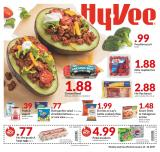 HyVee Flyer - 01.16.2019 - 01.22.2019 - Sales products - bacon, beef meat, doritos, eggs, ground beef, raspberries, yogurt, pepsi, chips, lettuce, lay's, salad.