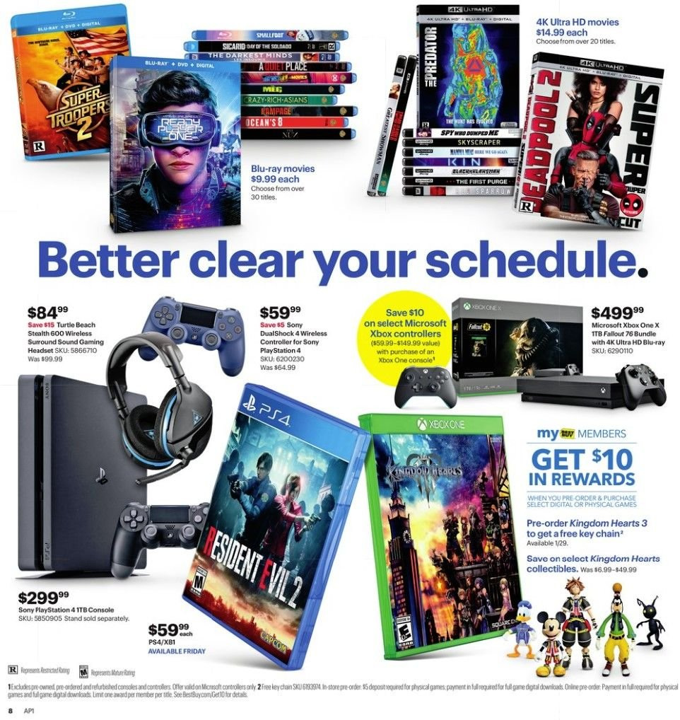 Best Buy Flyer 01 20 2019 01 26 2019 Page 8 Weekly Ads