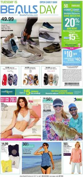 02ae7ee3f0 Current Bealls Florida flyer 01.13.2019 - 03.29.2019