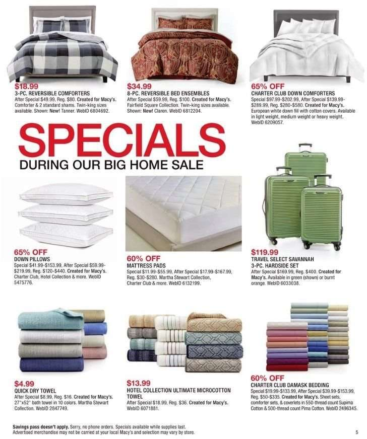Current Macy's flyer 01.30.2019   02.03.2019 | Weekly ads.us