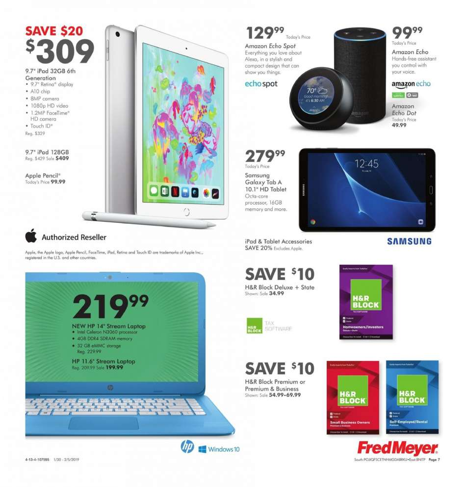 Fred Meyer flyer 01 30 2019 - 02 05 2019 | Weekly-ads us