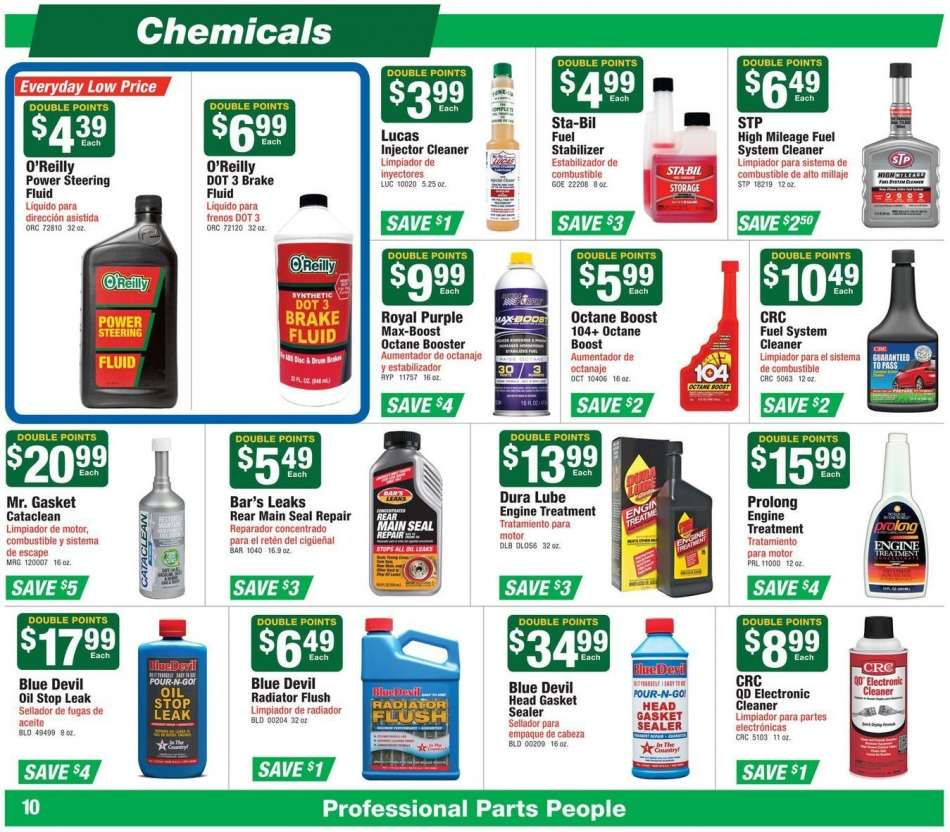 O'Reilly Auto Parts flyer 01 30 2019 - 02 26 2019 | Weekly