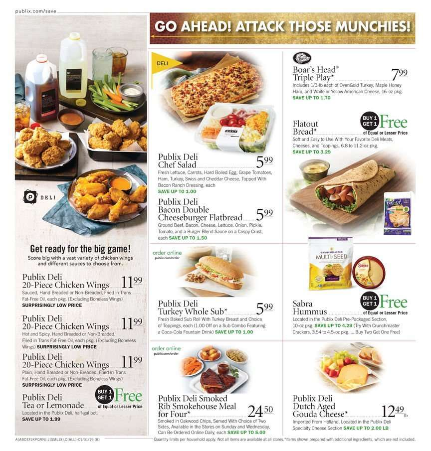 fe9ca731d41e Publix Flyer - 01.30.2019 - 02.05.2019 - Sales products - american cheese