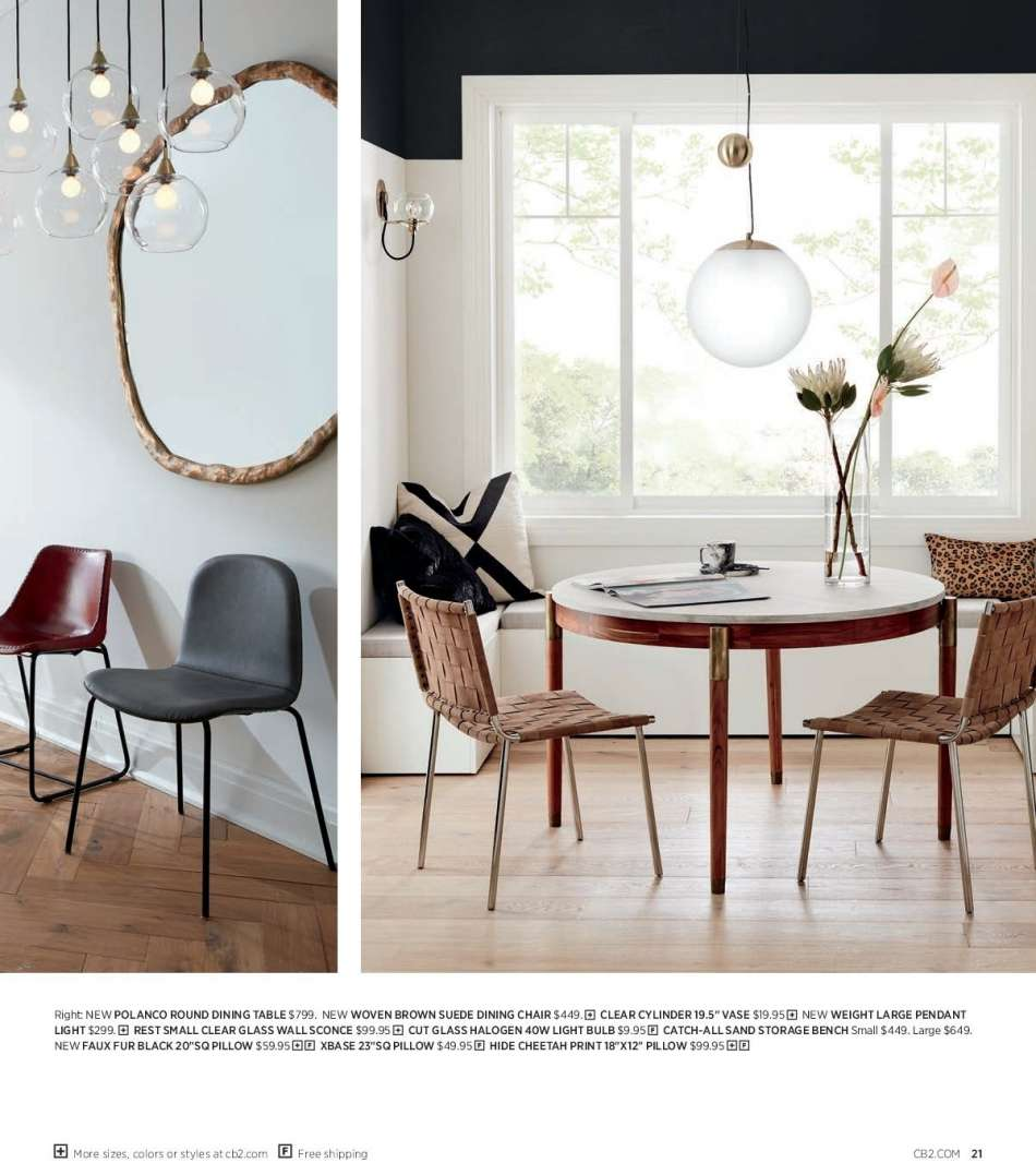 Pleasing Cb2 Flyer 02 01 2019 02 28 2019 Weekly Ads Us Caraccident5 Cool Chair Designs And Ideas Caraccident5Info