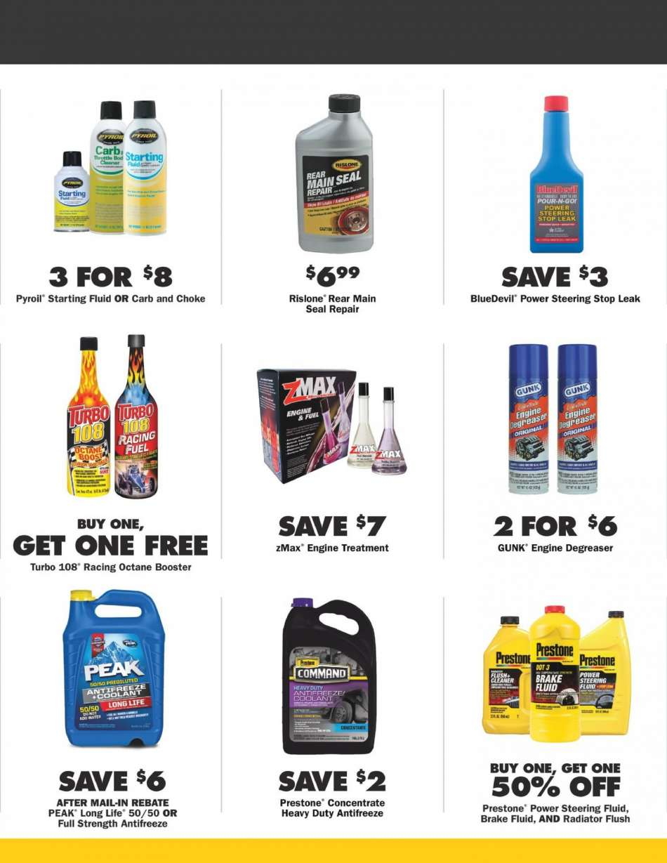 Advance Auto Parts flyer 01 31 2019 - 02 27 2019 | Weekly-ads us