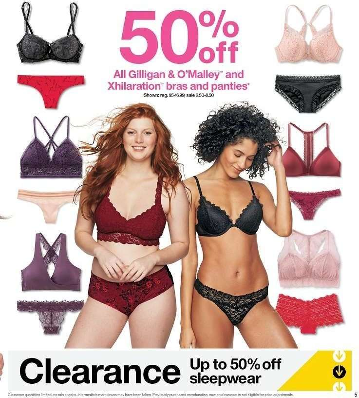 04540233eb824 Target Flyer - 02.03.2019 - 02.09.2019 - Sales products - bra