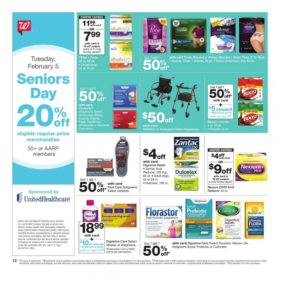 Current Walgreens Flyer 02032019 02092019 Weekly Adsus