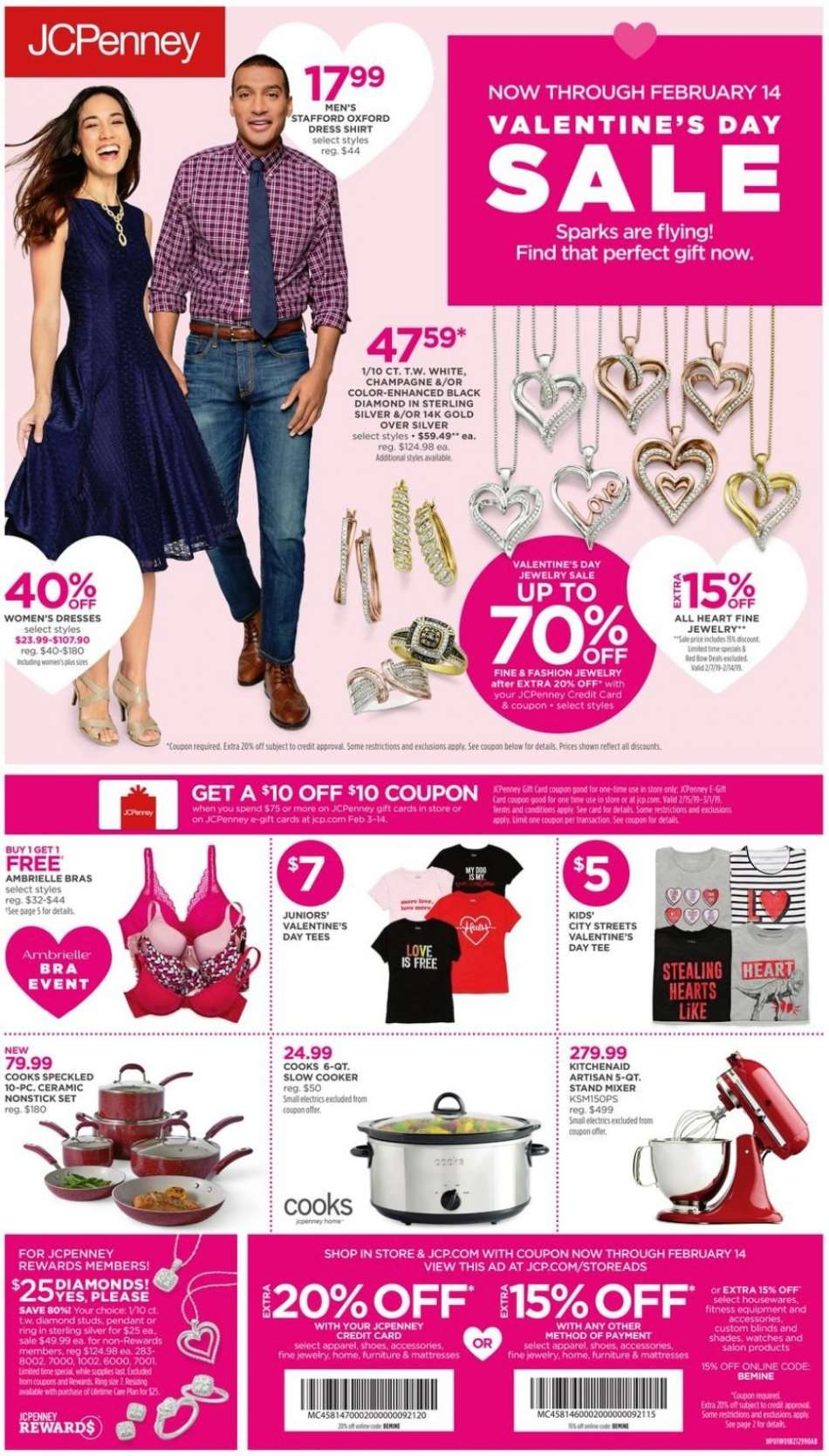 3b01a2cb321f9 JCPenney Flyer - 02.03.2019 - 02.14.2019 - Sales products - bra