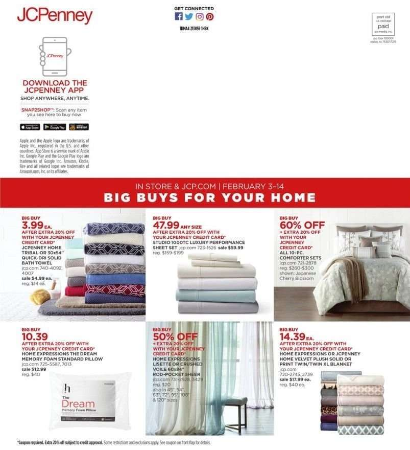 Current Jcpenney Flyer 02 03 2019 02 18 2019 Weekly Ads Us