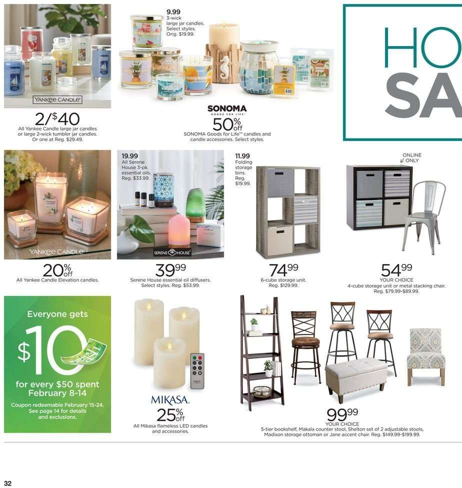 Peachy Kohls Flyer 02 08 2019 02 18 2019 Weekly Ads Us Ncnpc Chair Design For Home Ncnpcorg