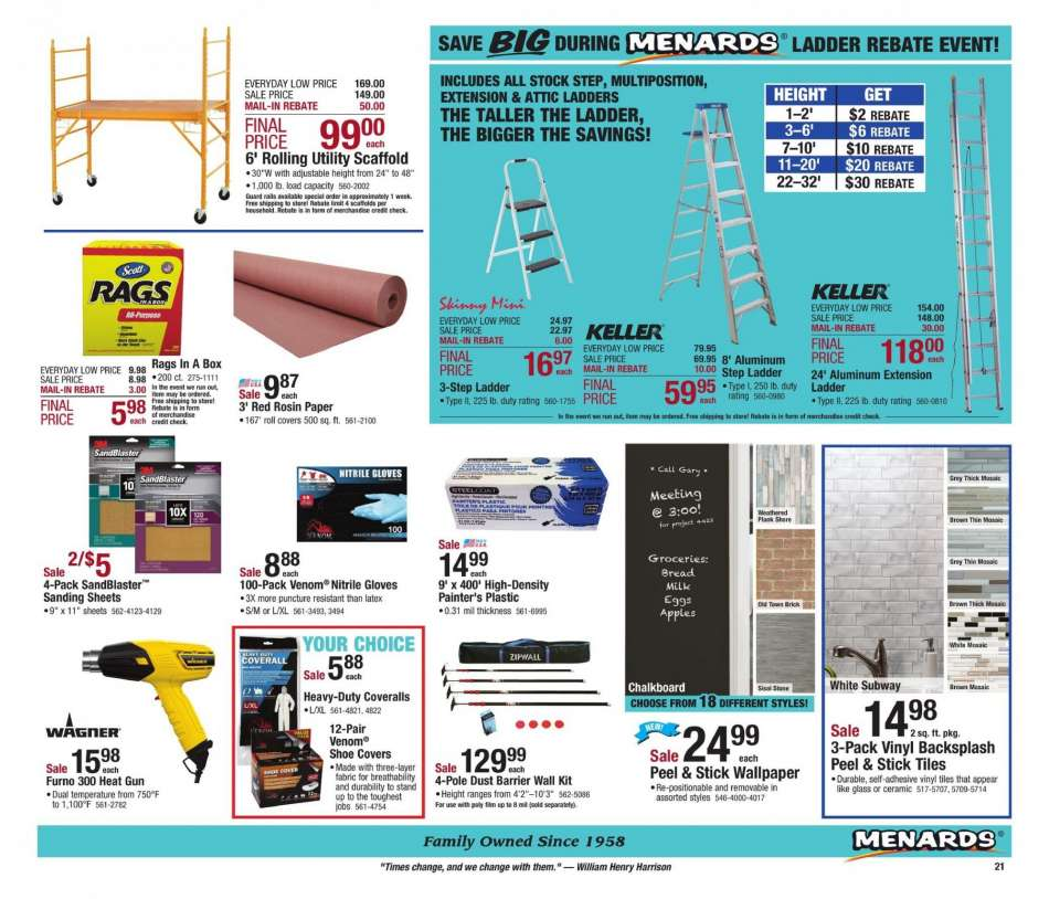 Menards Flyer 02 10 2019 02 18 2019 Weekly Ads Us