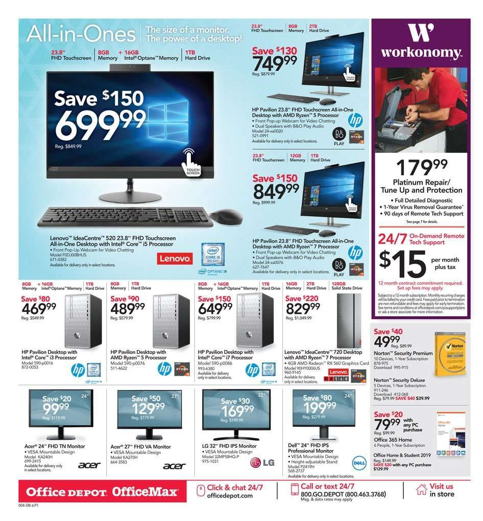 Office DEPOT flyer 02 10 2019 - 02 16 2019 | Weekly-ads us