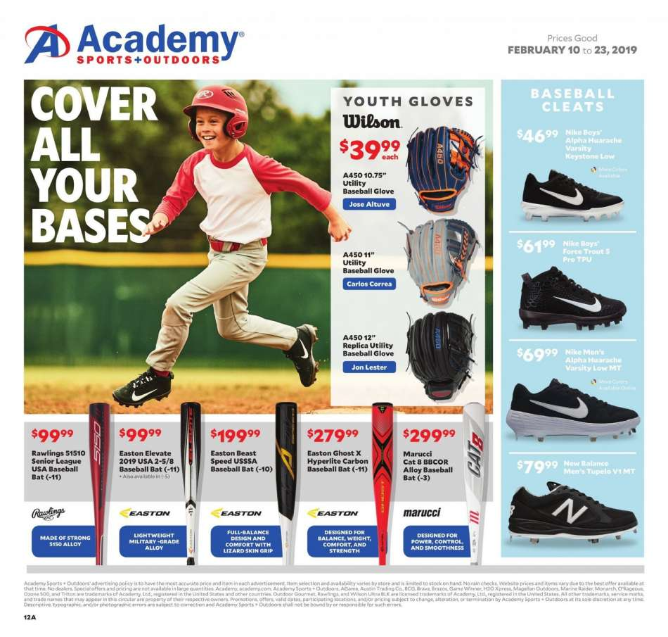 3c432c14c387 Academy Sports Flyer - 02.10.2019 - 02.23.2019 - Sales products - dates