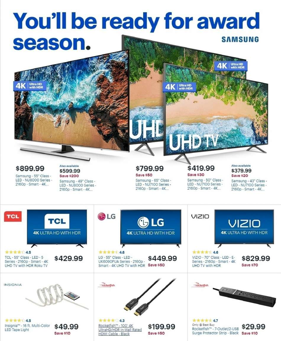 8fffbe91a70 Best Buy Flyer - 02.10.2019 - 02.16.2019 - Sales products - 4k